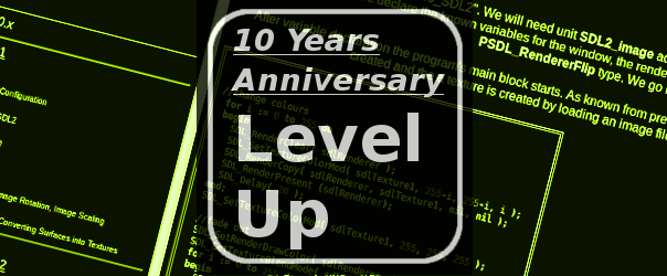10 Years Anniversary of FreePascal-meets-SDL.net