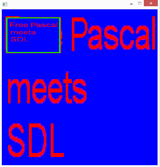 Tutorial Archives - Free Pascal meets SDL