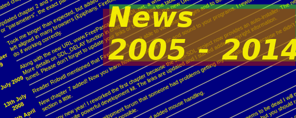 News Archive 2005-2015
